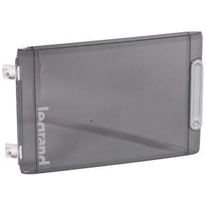 Porte transparente coffret 1 rangée réference 401611 , 401652 ou 401653 LEGRAND